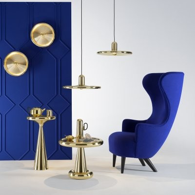Tom Dixon Wingback