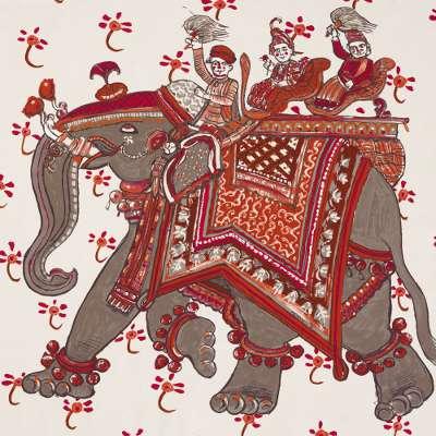 Hermès stoffen Beloved India