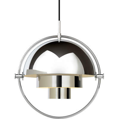 Multi Lite Pendant Chrome