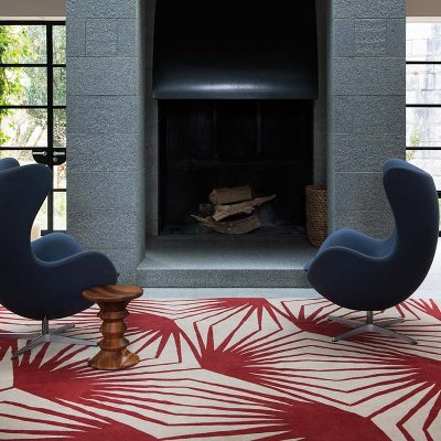 The Rug Company Stingray Red