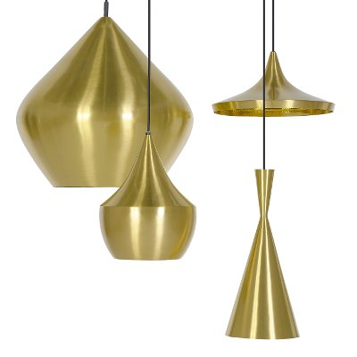 Tom Dixon Beat Brass