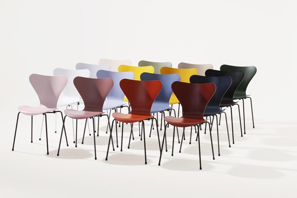 Fritz Hansen, 16 nieuwe kleuren